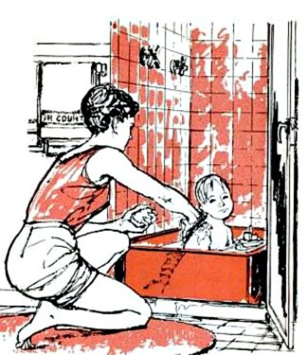 a shower bathtub