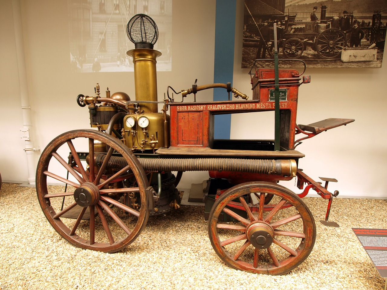 steam powered vehicle