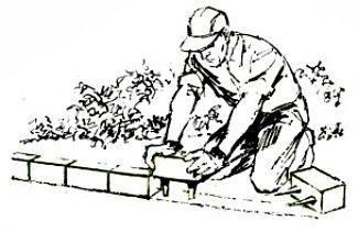 garden edging blocks