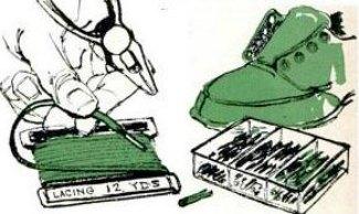 shoe lace kits