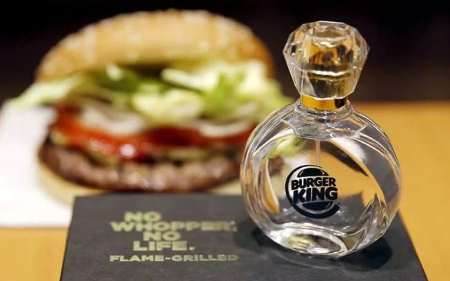 burger king fragrance