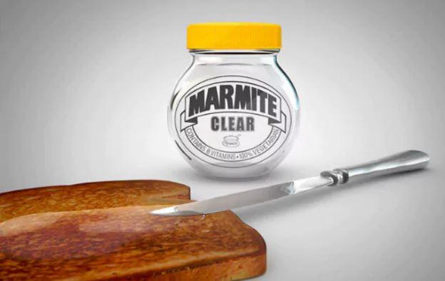 clear marmite