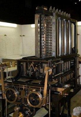charles babbage difference machine