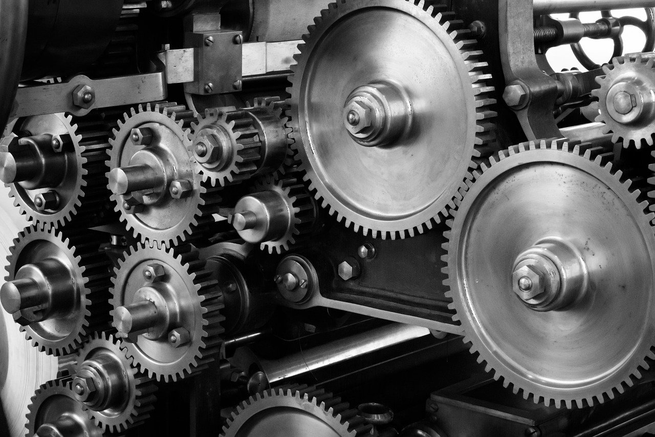 famous inventions - gears