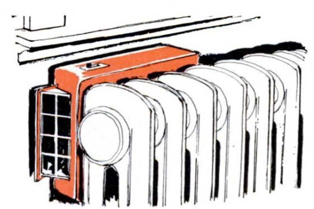 heat dispersing fan
