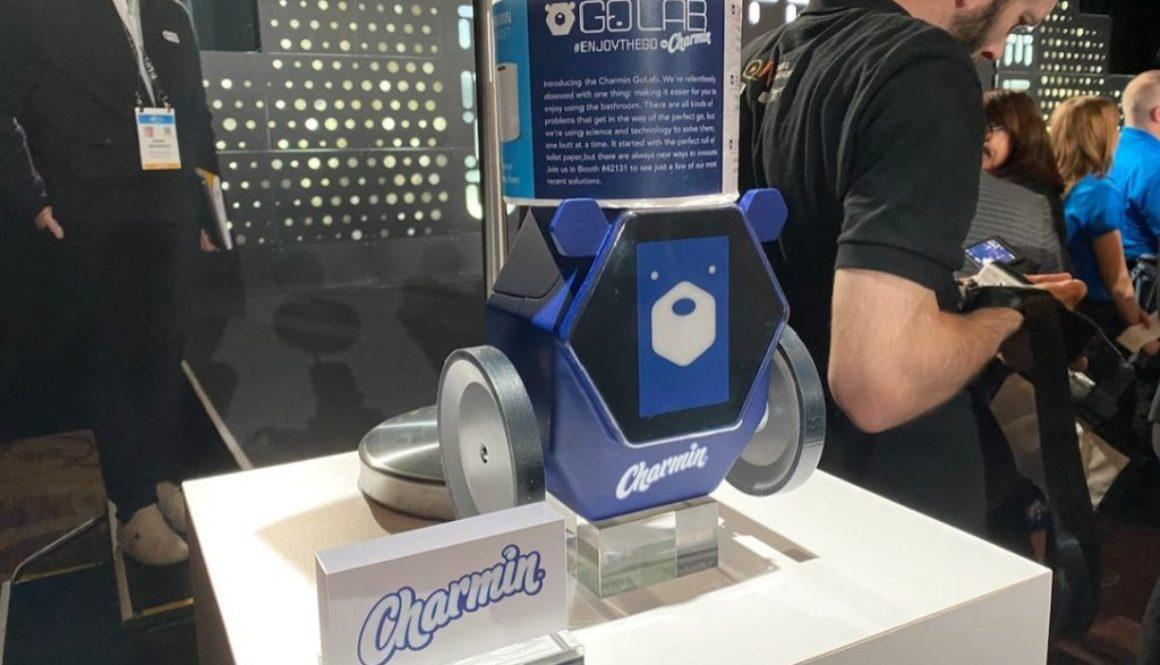 toilet paper robot
