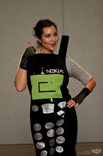cell phone costume