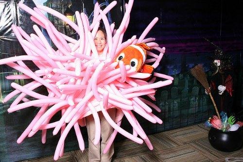 sea anemone costume