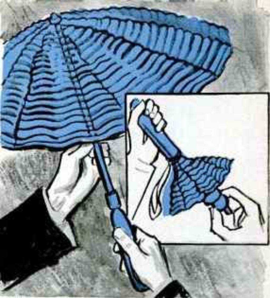 inflatable umbrella