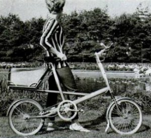 small wheeled bike from 1962