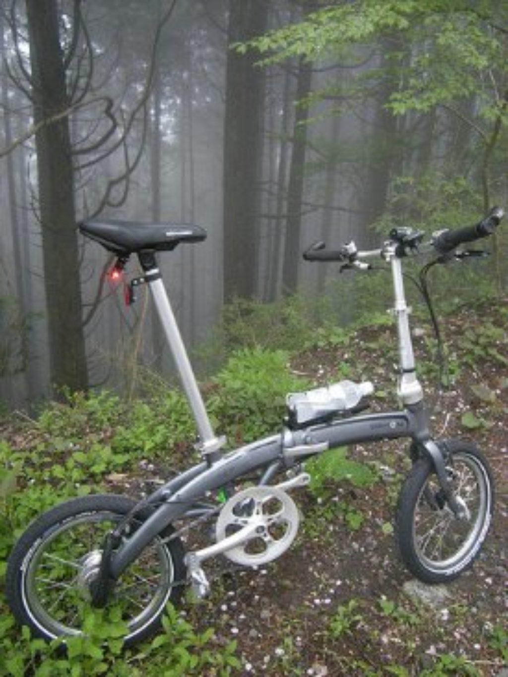 small wheeled bike