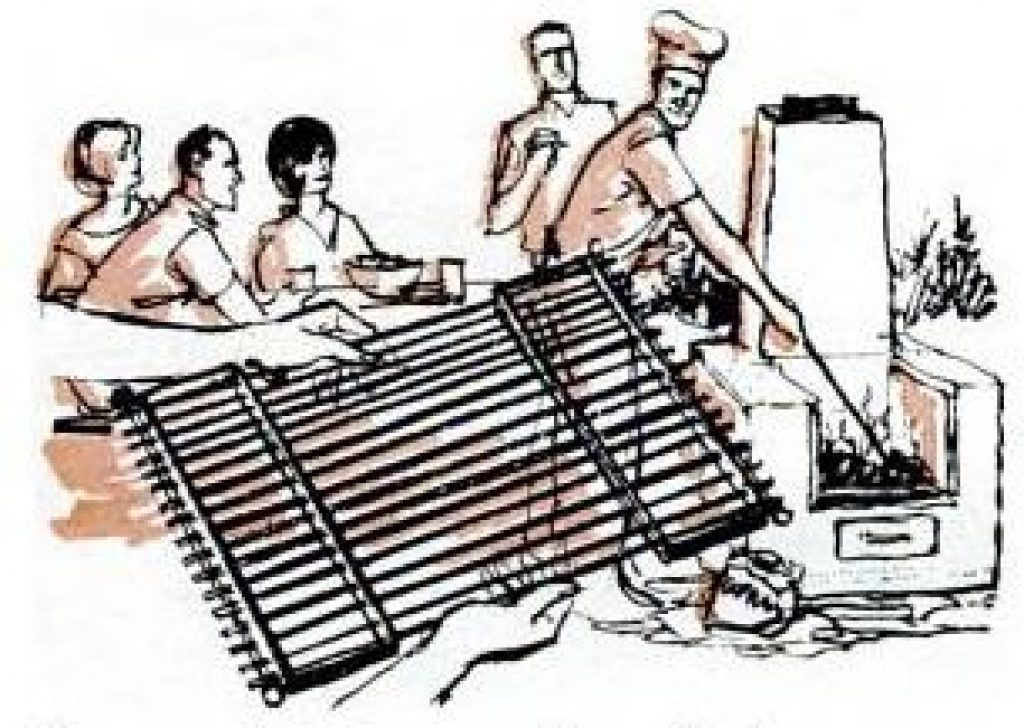 come apart bbq grill
