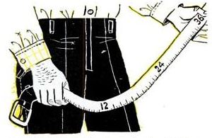 tape measure belt