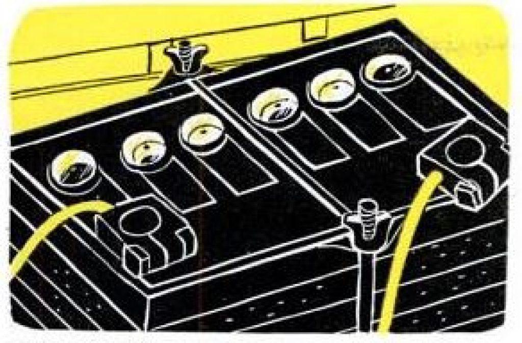 transparent battery caps
