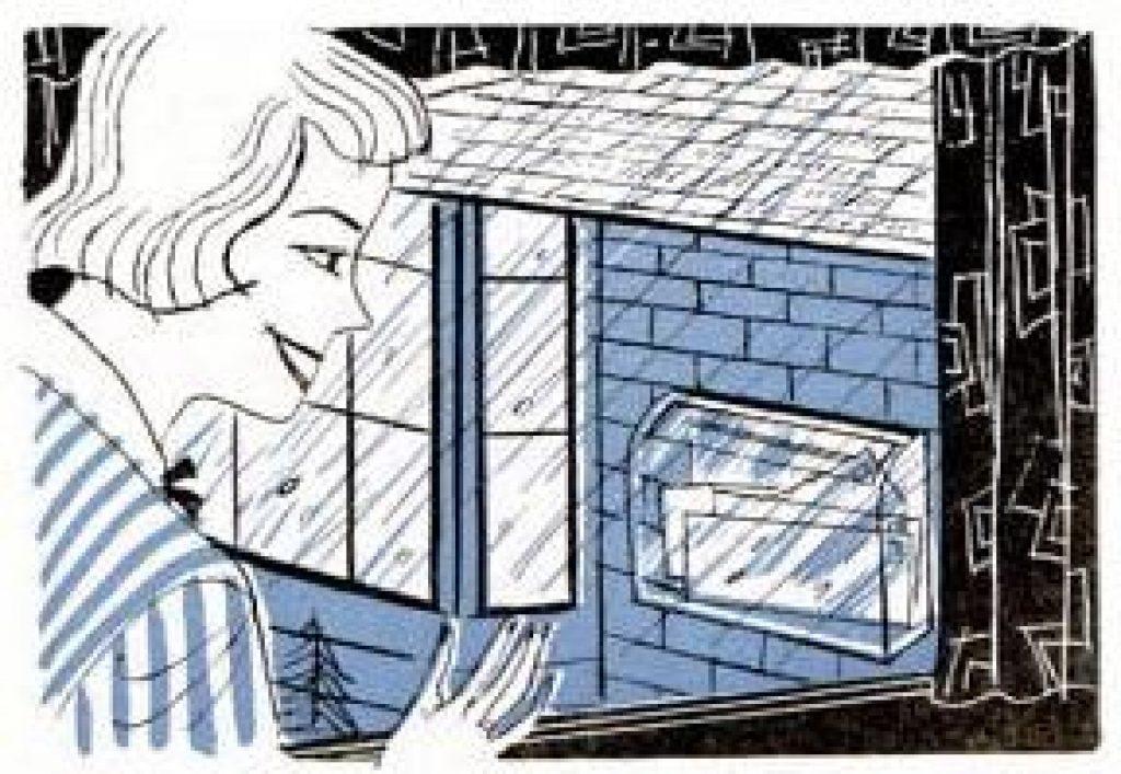 transparent mailbox