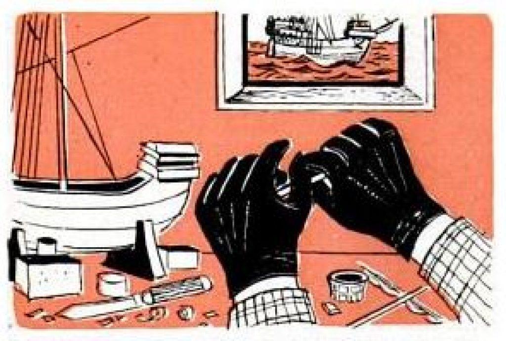 abrasive gloves