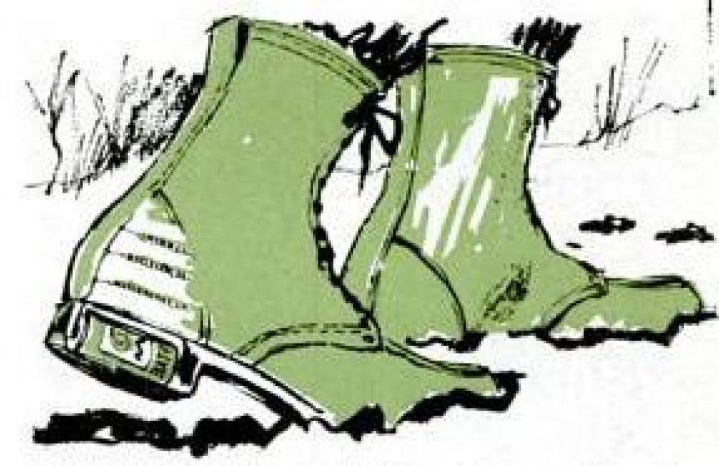 foot warming hunting boot