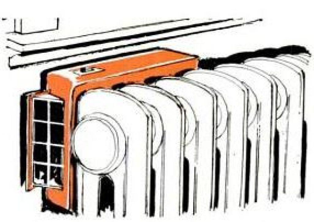 heat dispensing fan