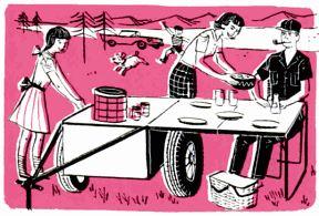 picnic trailer