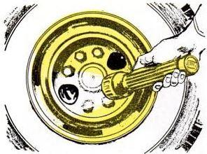 brake inspection port