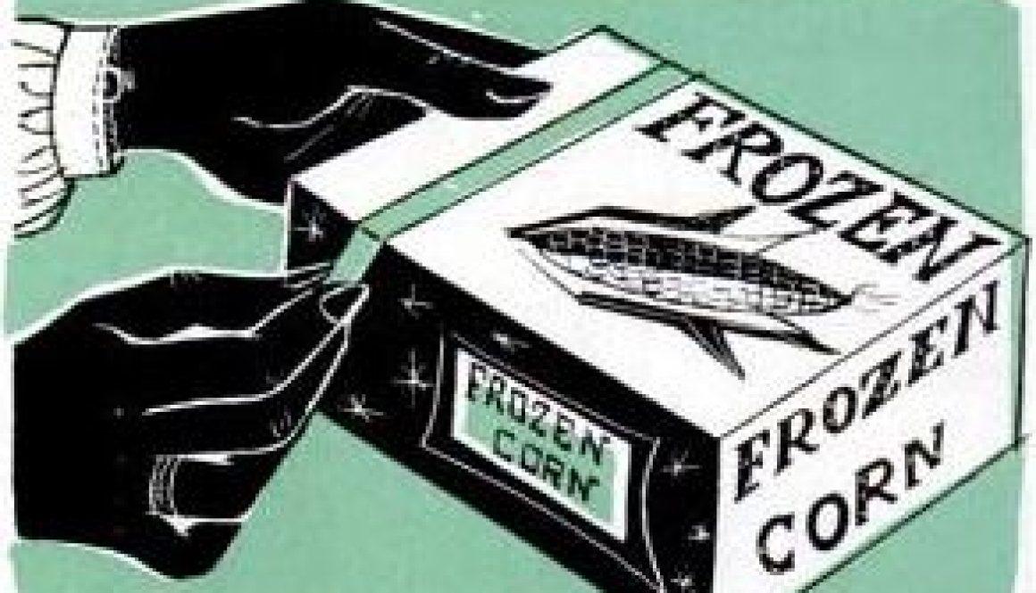 easy open frozen food packages