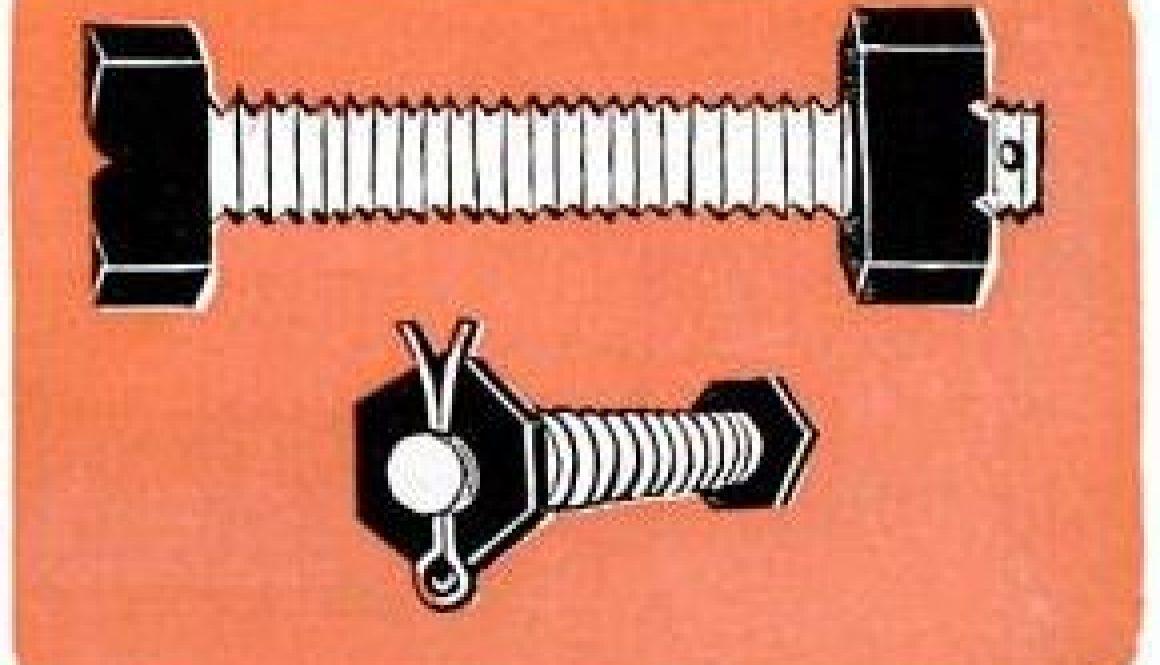 head markings on bolts