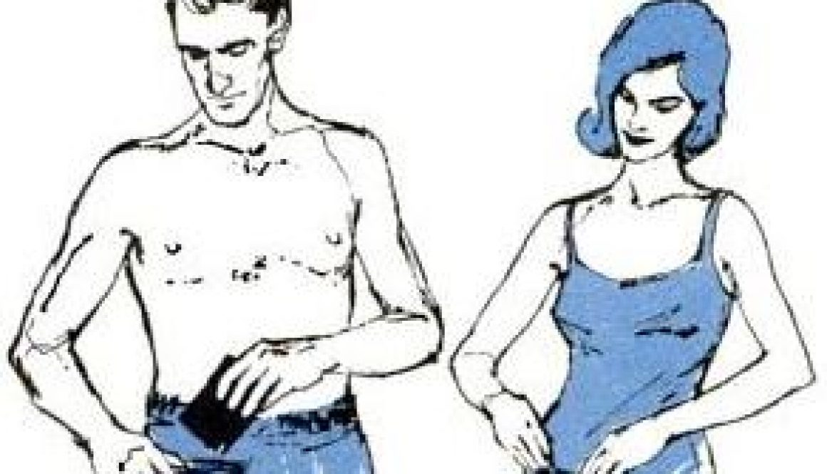 self seasling pockets on swimsuits
