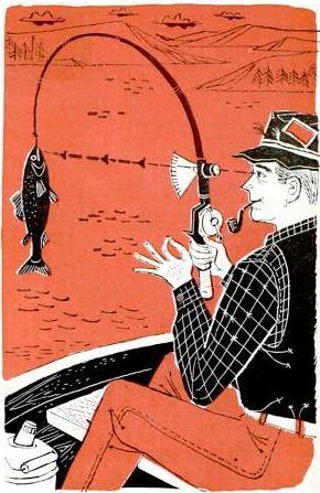 weight gauge on fishing rod