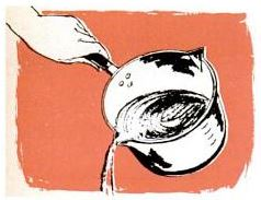 left and right handed cooking pot